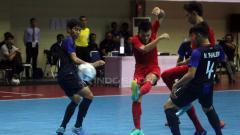Indosport - Piala AFF Futsal matchday ketiga antara Indonesia vs Kamboja.