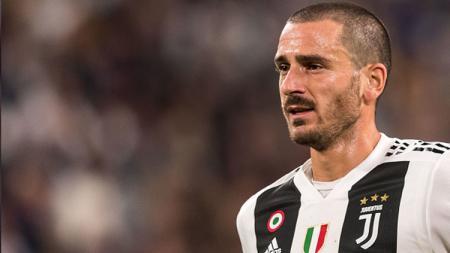 Bek Juventus, Leonardo Bonucci bercerita soal kegiatan sehari-harinya selama masa Isolasi karena penyebaran virus corona di Italia. - INDOSPORT