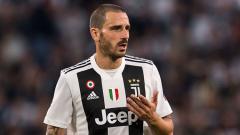 Indosport - Leonardo Bonucci, bek tengah Juventus.