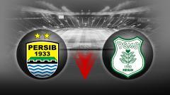 Indosport - Persib Bandung vs PSMS Medan