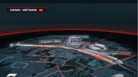 Sirkuit Vietnam, untuk F1 2020. - INDOSPORT