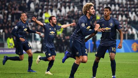 Aksi selebrasi pemain Manchester United1 - INDOSPORT