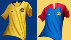Indosport - Jersey Timnas Malaysia.