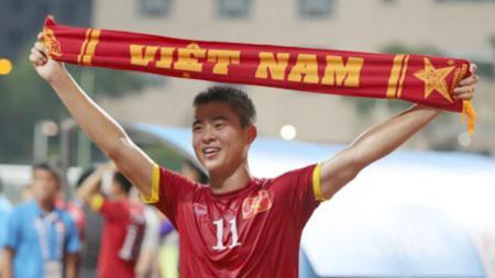Do Duy Manh pernah menjadi ballboy saat Vietnam meraih Piala AFF - INDOSPORT