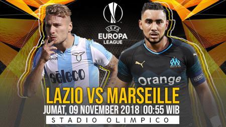 Prediksi pertandingan Lazio vs Marseille - INDOSPORT
