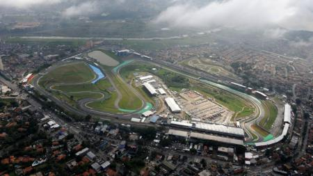 Autodromo Jose Carlos Pace, Sao Paulo, tempat berlangsungnya balapan F1 Brasil. - INDOSPORT