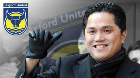 Erick Thohir jadi petinggi Oxford United - INDOSPORT