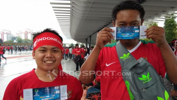 Fans Timnas Indonesia Copyright: INDOSPORT