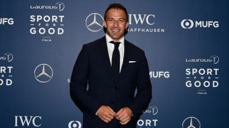 Legenda sepak bola Italia, Alessandro Del Piero. - INDOSPORT