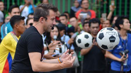 Alessandro Del Piero, legenda sepak bola Italia dan Juventus. - INDOSPORT