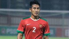 Indosport - Putu Gede Saat Berkostum Timnas Indonesia di tahun 2018 lalu.