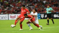 Indosport - Pertandingan Timnas Singapura vs Indonesia di Laga perdana Piala AFF 2018