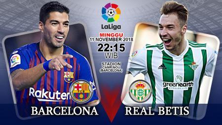 Prediksi pertandingan Barcelona vs Real Betis - INDOSPORT
