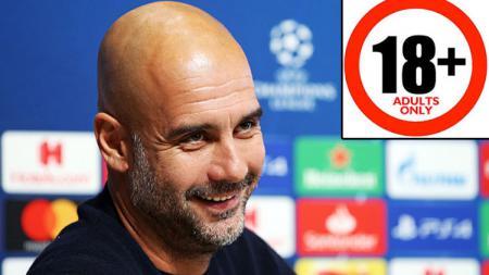 Pep Guardiola, pelatih Manchester City (insert: 18 ) - INDOSPORT