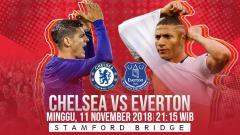 Indosport - Prediksi pertandingan Chelsea vs Everton
