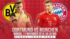 Indosport - Prediksi pertandingan Borussia Dortmund vs Bayern Munchen