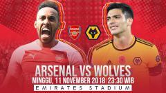 Indosport - Prediksi pertandingan Arsenal vs Wolves