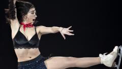 Indosport - Elizaveta Tutamysheva, atlet ice skating Rusia yang berani tampil seksi