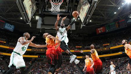 Situasi pertandingan Boston Celtics v Utah Jazz - INDOSPORT