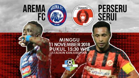 Prediksi pertandingan Arema vs Perseru Serui - INDOSPORT