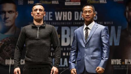 Anthony Crolla vs Daud Yordan. - INDOSPORT