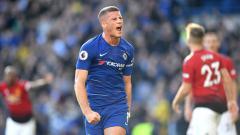Indosport - Ross Barkley, gelandang serang Chelsea.