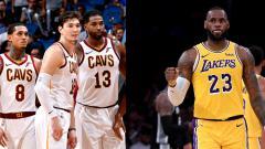 Indosport - Cleveland Cavaliers dan LeBron James.