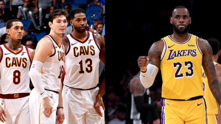 Cleveland Cavaliers dan LeBron James. - INDOSPORT