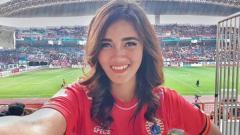 Indosport - Jak Angel cantik dan juga seksi, Jessie Amalia.