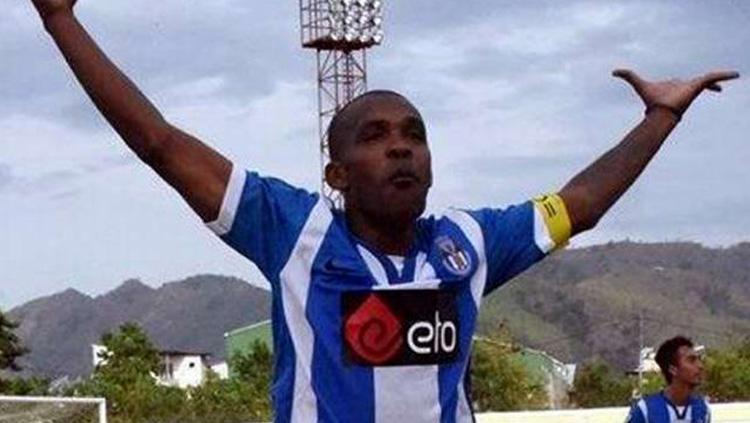 Miro Baldo Bento saat memperkuat FC Porto Taibesse. Copyright: sidomi