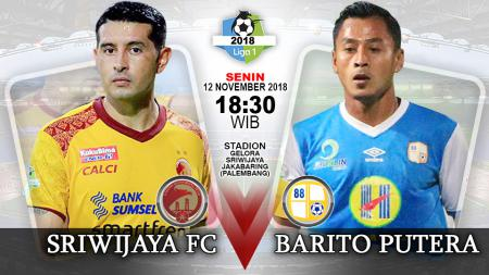 Pertandingan Sriwijaya FC vs Barito Putera. - INDOSPORT