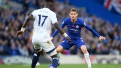 Indosport - Jorginho baru saja bergabung ke Chelsea musim ini.