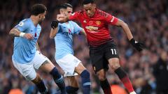 Indosport - Berikut tersaji prediksi pertandingan derbi sepak bola semifinal Piala Liga Inggris 2019-2020 antara Manchester City vs Manchester United di Etihad Stadium.