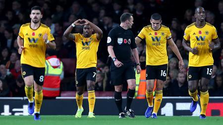 Wolverhampton Wanderers alias Wolves dikenal sebagai tim spesialis penghancur tim-tim besar Liga Primer Inggris. Clive Rose/Getty Images. - INDOSPORT