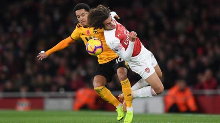 Arsenal vs Wolverhampton. - INDOSPORT