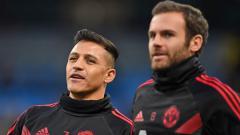 Indosport - Juan Mata dan Alexis Sanchez