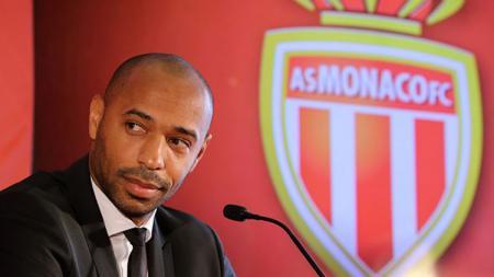 Thierry Henry saat jadi Pelatih AS Monaco. - INDOSPORT
