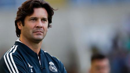 Santiago Solari, pelatih interim Real Madrid. - INDOSPORT