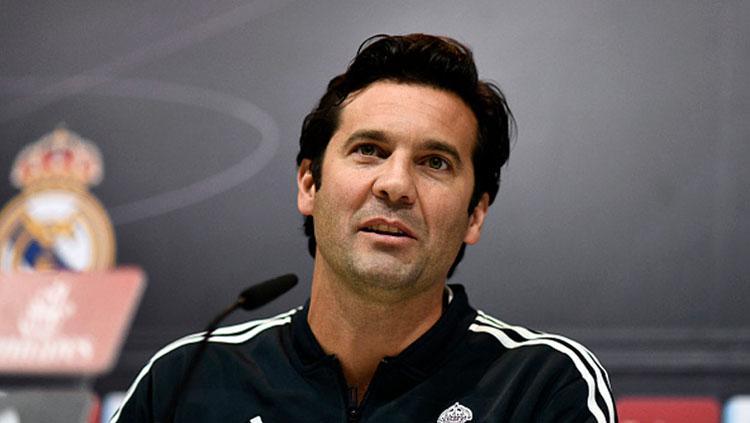 Santiago Solari, pelatih Real Madrid. Copyright: INDOSPORT