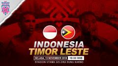 Indosport - Prediksi pertandingan Indonesia vs Timor Leste