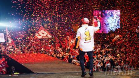 Pesta Perayaan Marc Marquez di Kota Kelahirannya - INDOSPORT