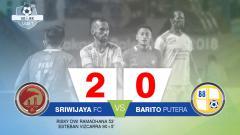 Indosport - Sriwijaya FC vs Barito Putera