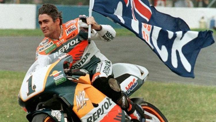 Legenda MotoGP Michael Dohan. Copyright: laureus.com