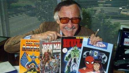 Stan Lee pencipta karakter superhero Marvel. - INDOSPORT