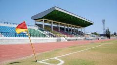 Indosport - Potret Stadion Nasional Timor Leste dari pojok.