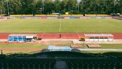 Indosport - Stadion Panaad Par, kandang Filipina di Piala AFF 2018.