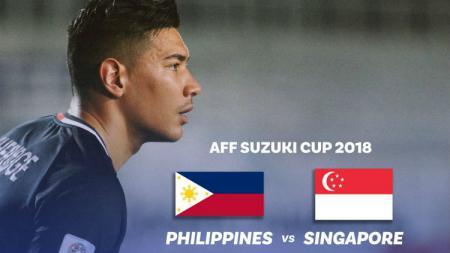 Filipina vs Singapura. - INDOSPORT