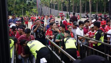 Tak Hanya Venue Debat Capres, Lokasi Meeting Piala Presiden Terkena Imbas Ledakan?