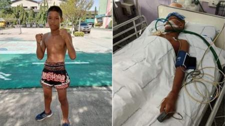 Anucha Kochana meninggal setelah pertandingan Muay Thai. - INDOSPORT