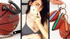 Indosport - tas yang terbuat dari bola basket, desain unik dari mantan atlet basket putri